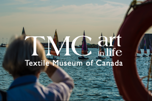 The Textile Museum of Canada presents Watercolour, a cultural project presented in partnership with the Toronto 2015 Pan Am/Parapan American Games from July 10-26, 2015. Celebrating the culture and artistry of Pan American nations, Watercolour will comprise 41 sails featuring artwork by one artist from each participating country. Encompassing work from internationally renowned to emerging and mid-career artists, the designs will animate sailboats on Lake Ontario with their rich visual diversity during ceremonies at the Toronto 2015 Games.